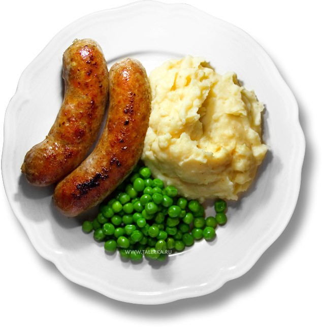 Деревенские свиные колбаски (English Country Pork Sausages)