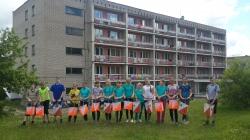 Спортивно-оздоровительный лагерь в  Сокольей горе, июнь 2017